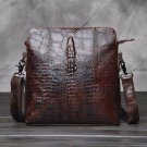 Men's Crocodile Shoulder Bag