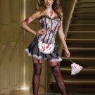 Horror Bloody Maid Costume