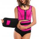 Front Zipper Velcro Neoprene Body Shaper Vest