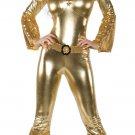 Gold Sequin Jumpsuit Costume
