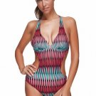 Women's Halter Neck One Piece Slimming Bathing Suit