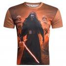 Men's Clothing 3D Printed Warrior T-Shirt