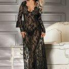 Delicate Lace Long Sleepwear Gown