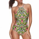 One Piece Floral Printing Swimsuit