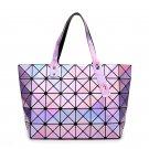 Women's Geometric Luminous Purse Handbag Messenger Bags