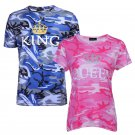 Camouflage Couple Short sleeve T-shirt