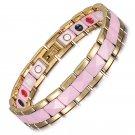 Womens Magnetic Bracelet For Arthritis Ceramic Joint Pain Therapy Bracelets