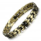 Bronze Copper Magnetic Bracelet for Pain Relief Arthritis Magnetic Therapy