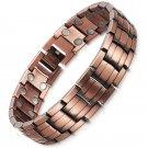 Beast- Promote Insomnia Blood Circulation Mens Copper Magnetic Bracelet