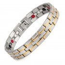 Holy Light- Stainless Steel Carpal Tunnel Magnetic Therapy Bracelet