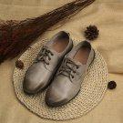 Vintage Lace Up Flat Shoes