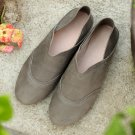 Vintage Style Loafer Stitched Shoes