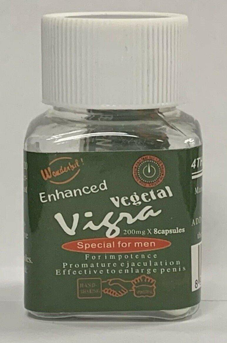 2 Bottle 16 Capsules Vegetal Special for Men 200mg Male enhancement Pills