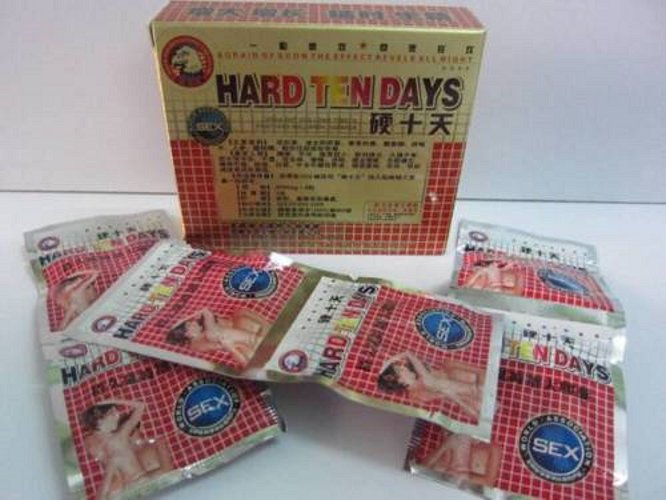 6 Box Strong Ten Days 36 Capsules 4500mg