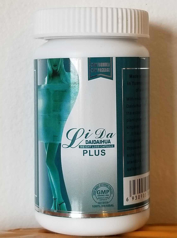 Lida Natural Botanical Herbal 30 Slimming Capsules