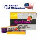 3 Pack (15 Pcs) SexLove Chewing Gum Sexual Enhancement Drive Stimulant For Women