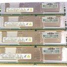 16GB Samsung 4x4GB PC2-5300 DDR2 240Pin DIMM Memory M395T5160QZ4-CE66 398708-061