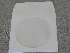200 TYVEK CD SLEEVES W/WINDOW & FLAP - JS88