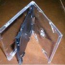 50 SLIM TRIPLE CD JEWEL CASES W/ BLACK TRAY - SLIM3CD
