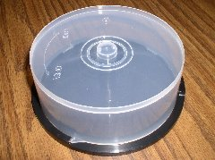 24 CD SPINDLES HOLDS 25 CDS EACH (CAKE BOX) - PSC110