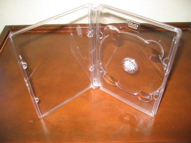 25 RARE DVD CASES, SUPER CLEAR - SF11