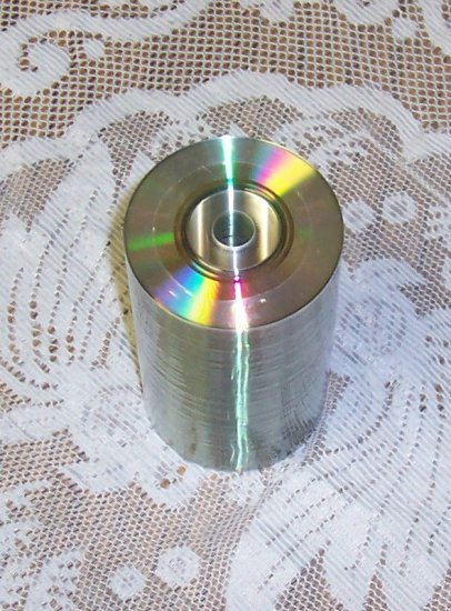 100 RITEK MINI CDR, SILVER/SILVER, 24X With SLEEVES