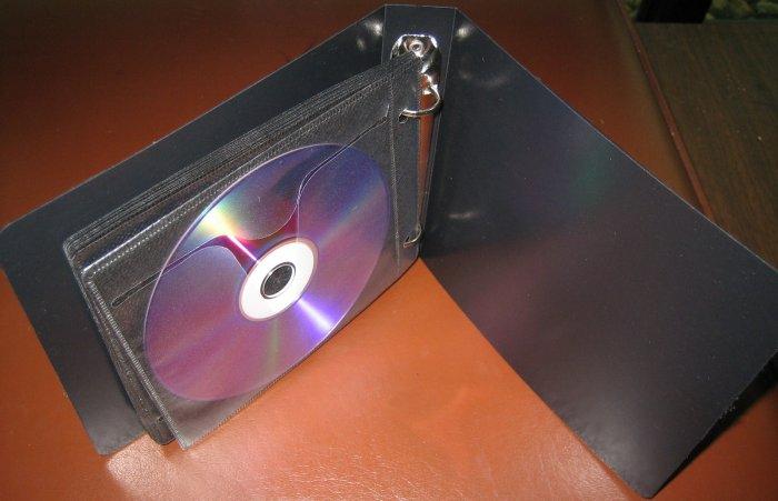 20 DISC CAPACITY CD / DVD ALBUM CASE, 2 RING, SET OF 10 CASES - MH10