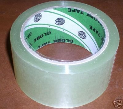 25 ROLLS OF PACKAGING TAPE - JS250