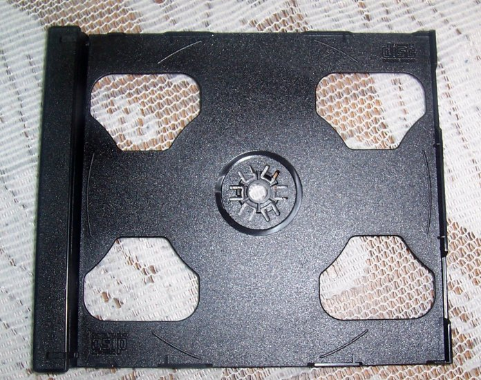 100 DOUBLE CD SMART TRAYS - 2CDSMTRAY