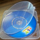 100 TRIMPAK CD/DVD POLY CASES - CLEAR - BL55