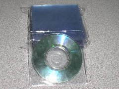 500 MINI CD/DVD VINYL SLEEVES - JS28