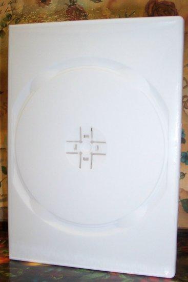 500 SLIM QUAD DVD CASES, WHITE - PSD76