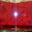 500 NEW STANDARD DVD CASES, RED Translucent - BL72HD