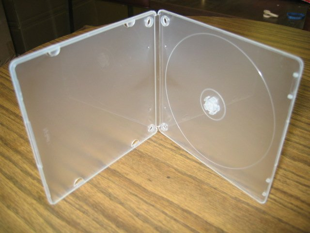 1000 Slim 5mm Poly Case with Binding Holes - BL020