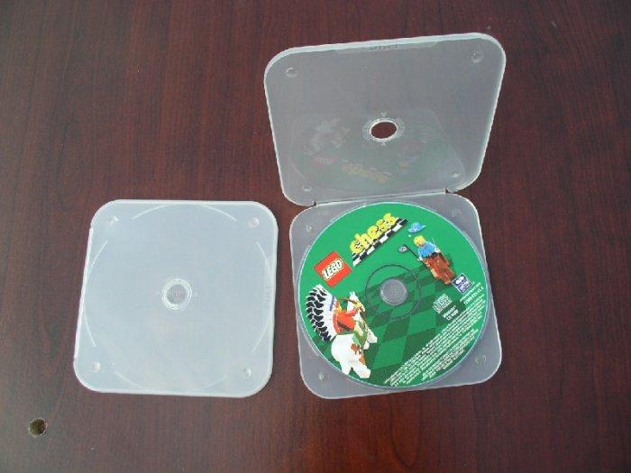 1000 TRIMPAK CD/DVD POLY CASES - CLEAR - PSC14