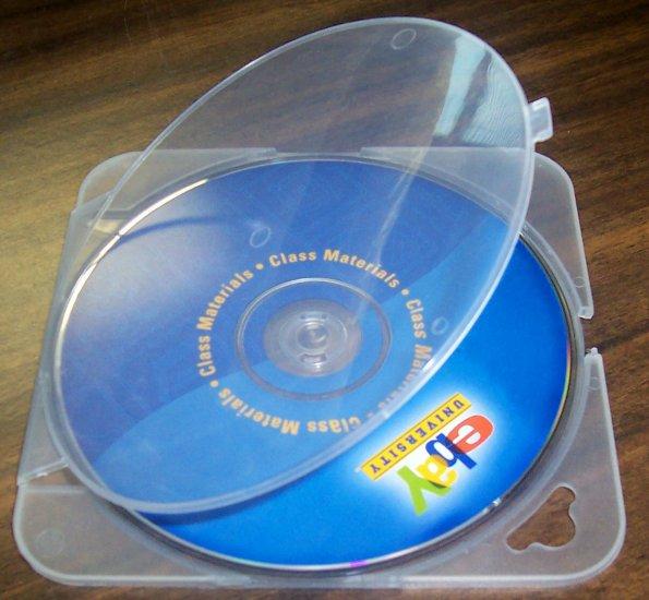 1000 TRIMPAK CD/DVD POLY CASES - CLEAR - BL55