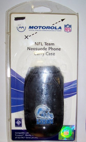 NFL Team Neosuede Phone Carry Case - Detroit Lions