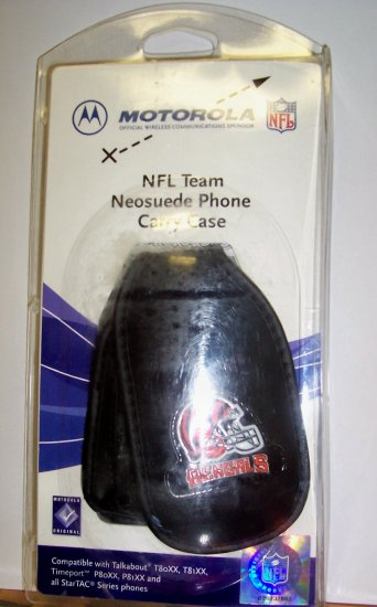 NFL Team Neosuede Phone Carry Case - Bengals
