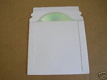 """1000 PCS 6 x 6 1/4"""" CD DVD CARDBOARD MAILERS - JS92"""