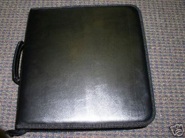 10 CD WALLETS, LEATHERETTE, HOLDS 200 CDS EACH - JS77