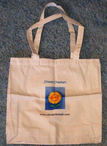 Simple  Cheap Cheetah's Cloth Tote Bag