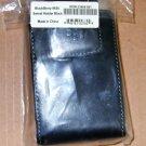 BlackBerry 9630 Swivel Belt Holster Leather Case Black