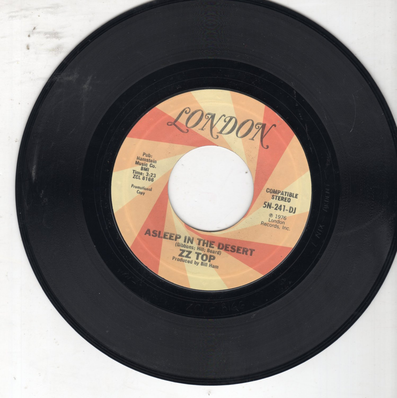 ZZ TOP - IT'S ONLY LOVE / ASLEEP IN THE DESERT 45 RPM