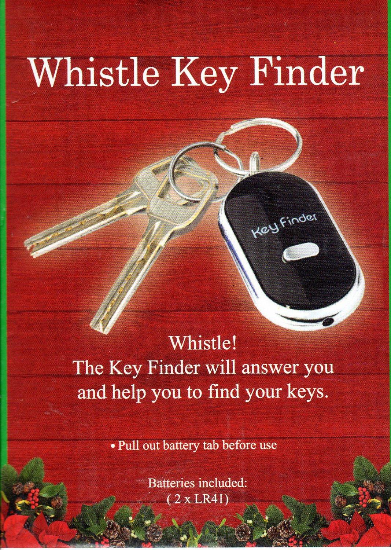 Whisle Key Finder