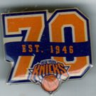 NBA - New York Knicks 70th Anniversary Pin