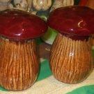 Mushroom Salt & Pepper Shakers