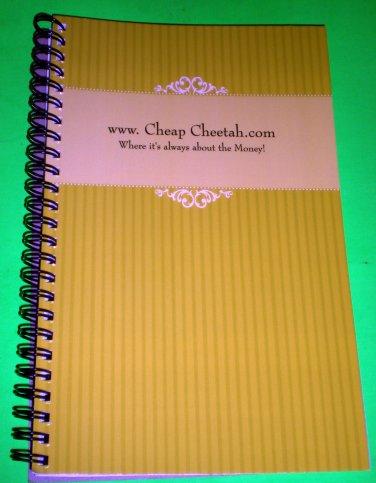 Cheap Cheetah Note Book