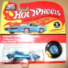 Hot Wheels 25th Anniversary Blue Silhouette Die Cast 1:64, MISP