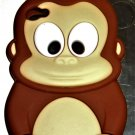 Soft Silicon Monkey Phone Case Cover for iPhone 4/4s Phone Skin for iPhone