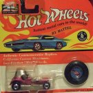 Wheels 25th Anniversary Red Baron Metallic Lavender Pink Series M MOC 1993